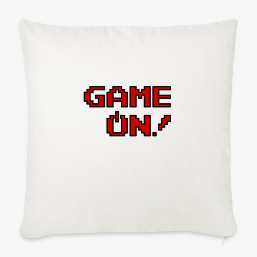 "Game On.png - Throw Pillow Cover 18"" x 18"""