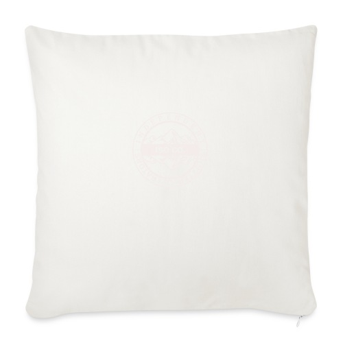 """ISO Co. White Classic Emblem - Throw Pillow Cover 18"""" x 18"""""""