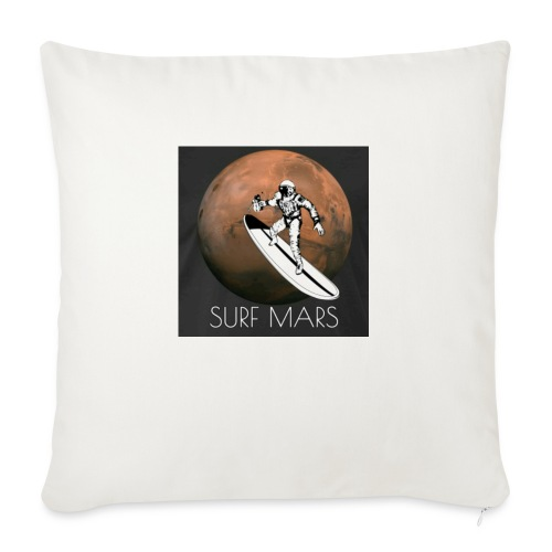 "space surfer - Throw Pillow Cover 18"" x 18"""