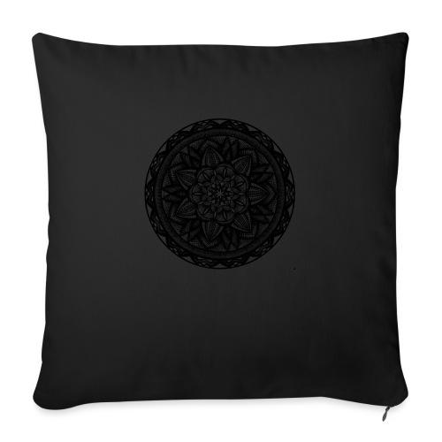"""Circle No.2 - Throw Pillow Cover 17.5"""" x 17.5"""""""