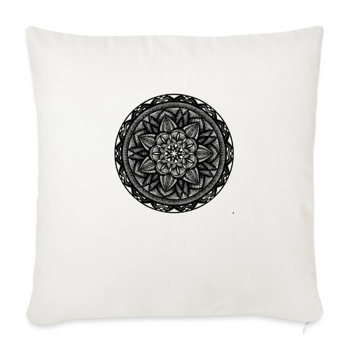 "Circle No.2 - Throw Pillow Cover 17.5"" x 17.5"""