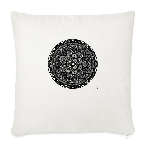 """Circle No.2 - Throw Pillow Cover 18"""" x 18"""""""