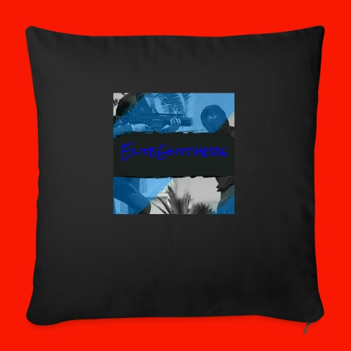 "EliteGlitchersRevamp - Throw Pillow Cover 18"" x 18"""