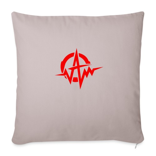 "Amplifiii - Throw Pillow Cover 18"" x 18"""