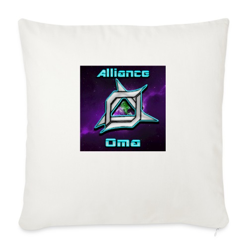 "Oma Alliance - Throw Pillow Cover 18"" x 18"""