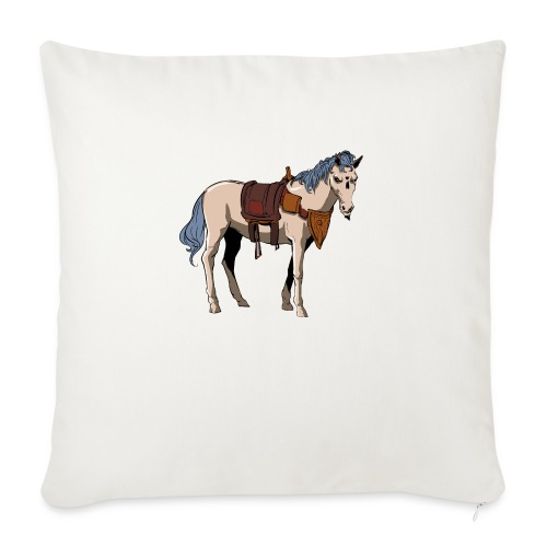 """Useless the Horse png - Throw Pillow Cover 18"""" x 18"""""""