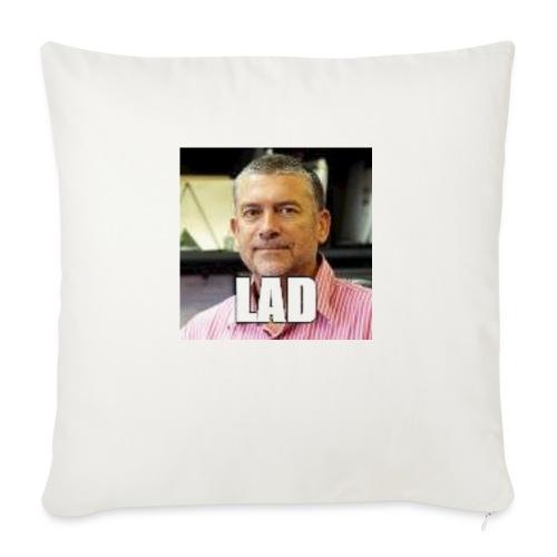 "CHCCS meme design 2 - Throw Pillow Cover 18"" x 18"""