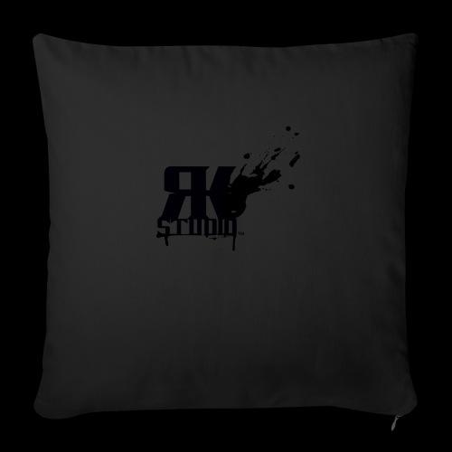 "RKStudio Black Version - Throw Pillow Cover 17.5"" x 17.5"""