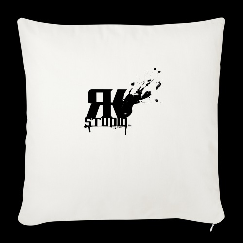 "RKStudio Black Version - Throw Pillow Cover 17.5"" x 17.5"""