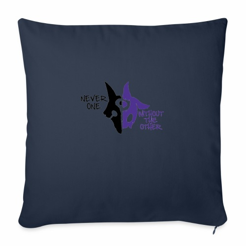 """Kindred's design - Throw Pillow Cover 18"""" x 18"""""""