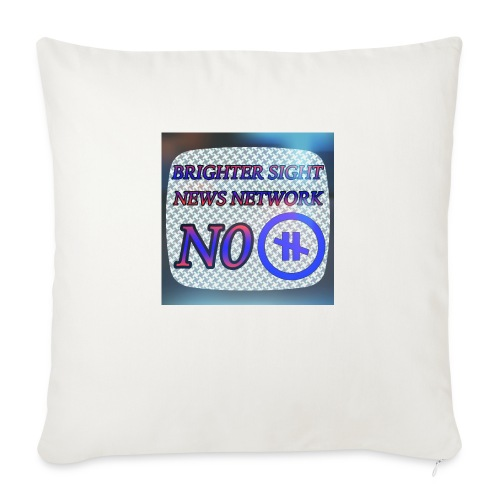 "NO PAUSE - Throw Pillow Cover 18"" x 18"""