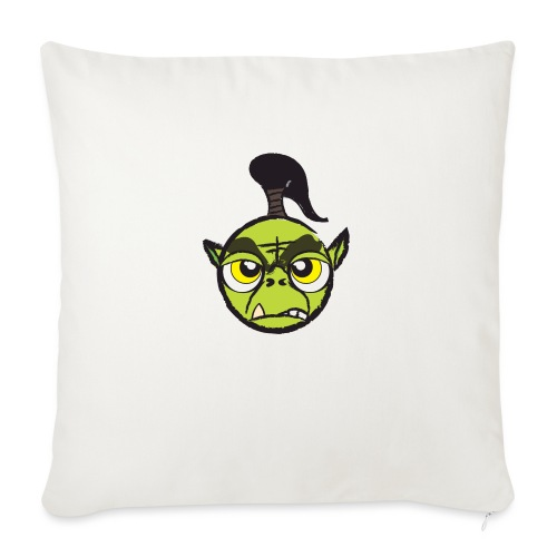 "Warcraft Baby Orc - Throw Pillow Cover 17.5"" x 17.5"""