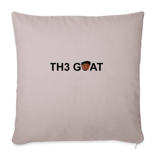 "The goat cartoon - Throw Pillow Cover 18"" x 18"""