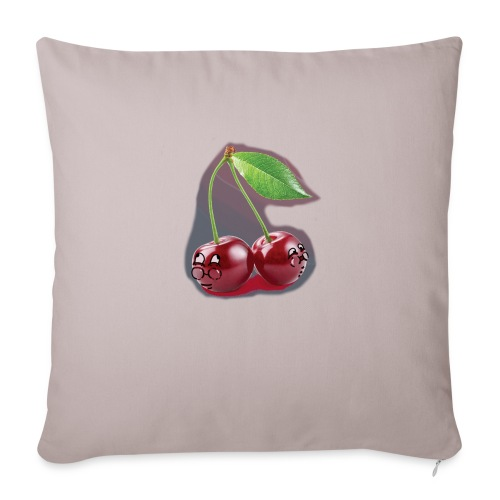 """Cherry Bombs - Throw Pillow Cover 18"""" x 18"""""""