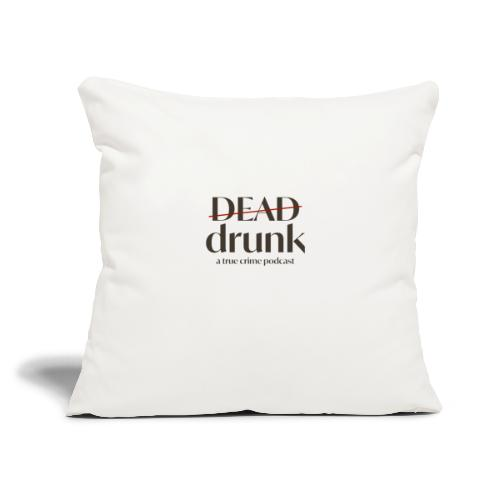 "OUR FIRST MERCH - Throw Pillow Cover 17.5"" x 17.5"""