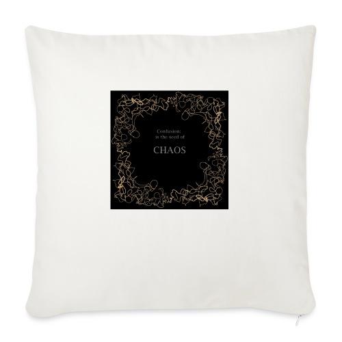 """chaos - Throw Pillow Cover 17.5"""" x 17.5"""""""