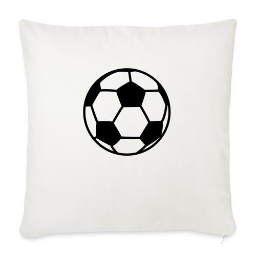 "custom soccer ball team - Throw Pillow Cover 17.5"" x 17.5"""