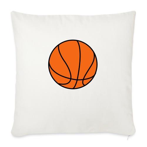 "Basketball. Make your own Design - Throw Pillow Cover 17.5"" x 17.5"""