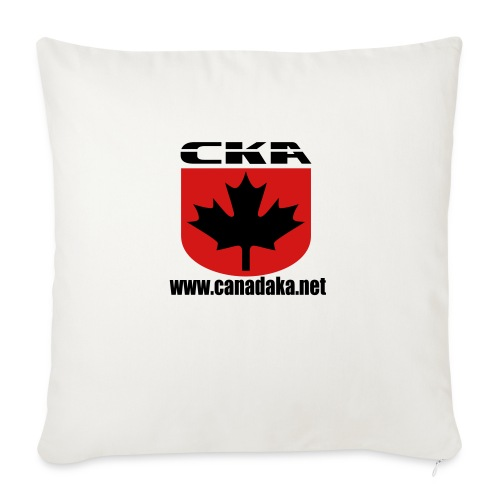 """CKA Back 1 - Throw Pillow Cover 17.5"""" x 17.5"""""""