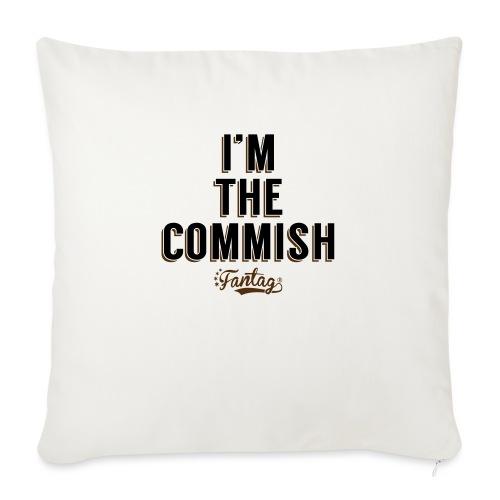 "I'm the Commish: Coffee Mug - Throw Pillow Cover 18"" x 18"""