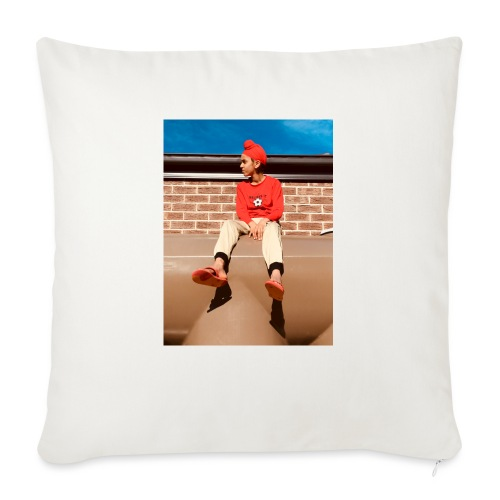 "Flamin_Danger - Throw Pillow Cover 18"" x 18"""