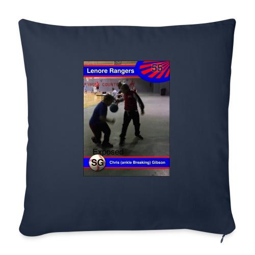 "Basketball merch - Throw Pillow Cover 18"" x 18"""
