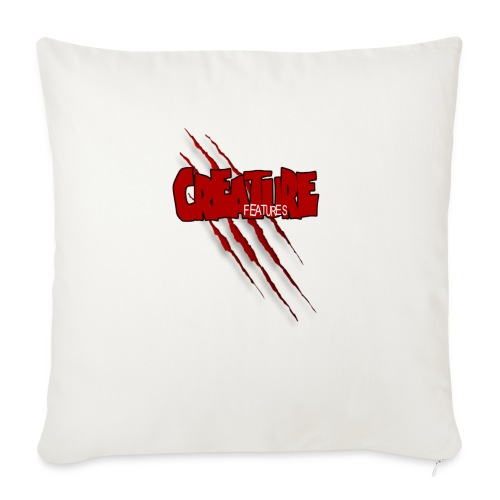 """Creature Features Slash T - Throw Pillow Cover 17.5"""" x 17.5"""""""