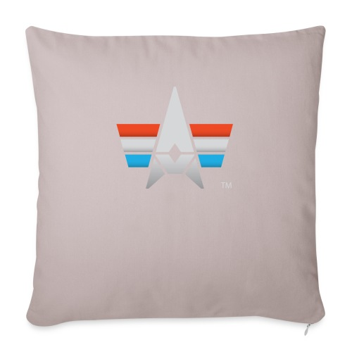 """BHK Icon full color stylized TM - Throw Pillow Cover 18"""" x 18"""""""