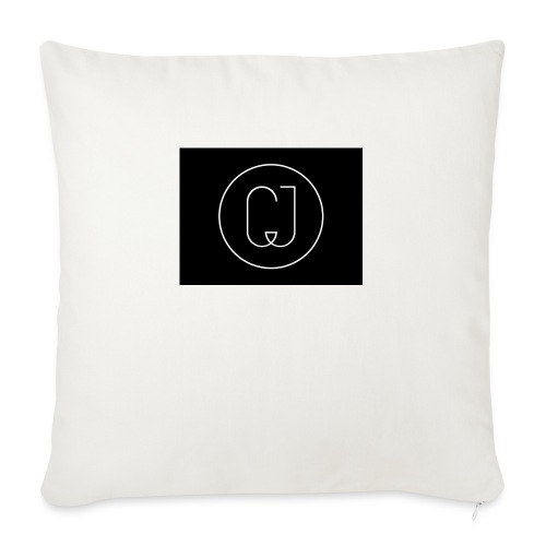 "CJ - Throw Pillow Cover 18"" x 18"""