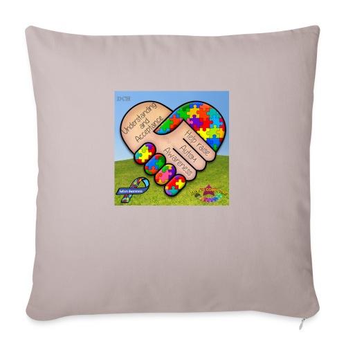 "autpro1 - Throw Pillow Cover 18"" x 18"""