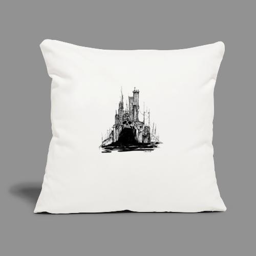 "Wolfman Originals Black & White 20 - Throw Pillow Cover 17.5"" x 17.5"""