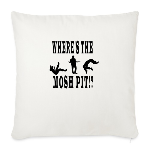 """Mosh pit - Throw Pillow Cover 17.5"""" x 17.5"""""""