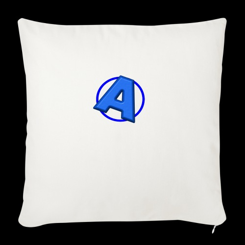 """Awesomegamer Logo - Throw Pillow Cover 18"""" x 18"""""""