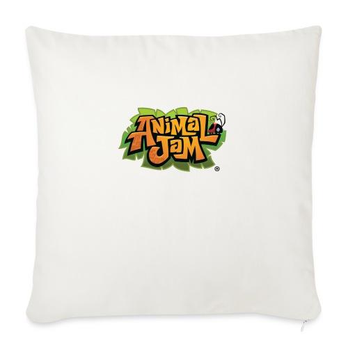 """Animal Jam Shirt - Throw Pillow Cover 18"""" x 18"""""""