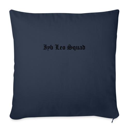"iyb leo squad logo - Throw Pillow Cover 18"" x 18"""
