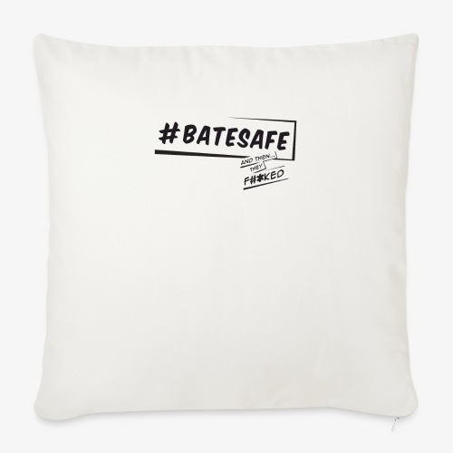 "ATTF BATESAFE - Throw Pillow Cover 18"" x 18"""