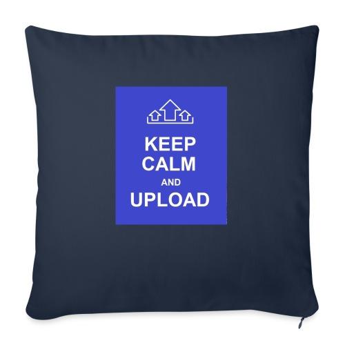 "RockoWear Keep Calm - Throw Pillow Cover 17.5"" x 17.5"""