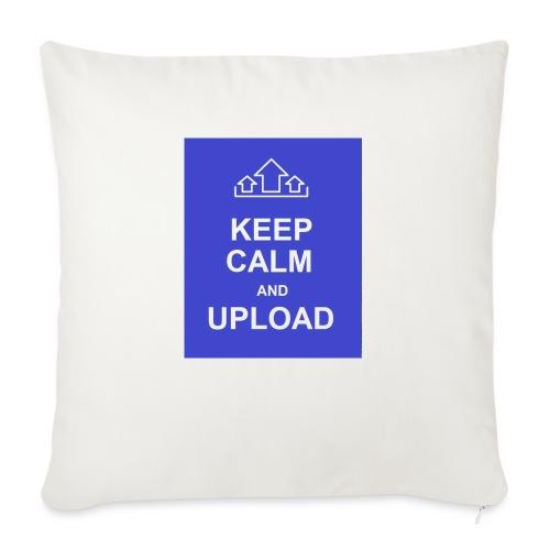 "RockoWear Keep Calm - Throw Pillow Cover 18"" x 18"""