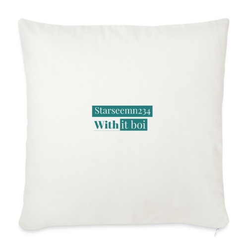 Starseemn234 with it boi | Premium hoodie and case - Throw Pillow Cover