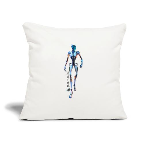 "P.A.M.E.L.A. Seeker - Throw Pillow Cover 17.5"" x 17.5"""
