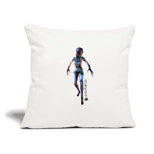 "P.A.M.E.L.A. Widow - Throw Pillow Cover 17.5"" x 17.5"""
