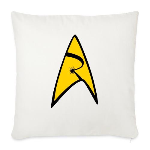 "Emblem - Throw Pillow Cover 17.5"" x 17.5"""