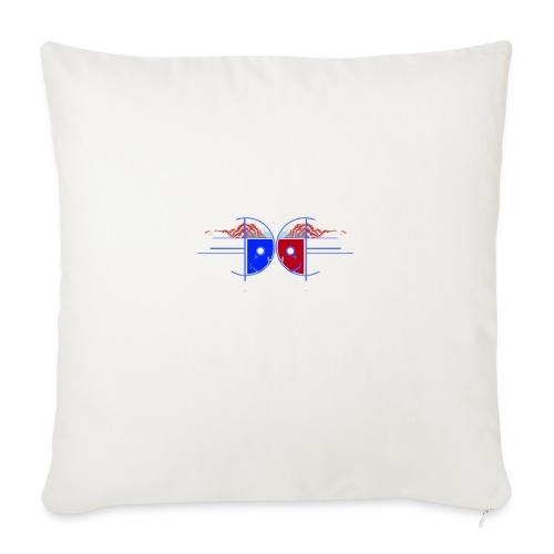 "d19 - Throw Pillow Cover 18"" x 18"""