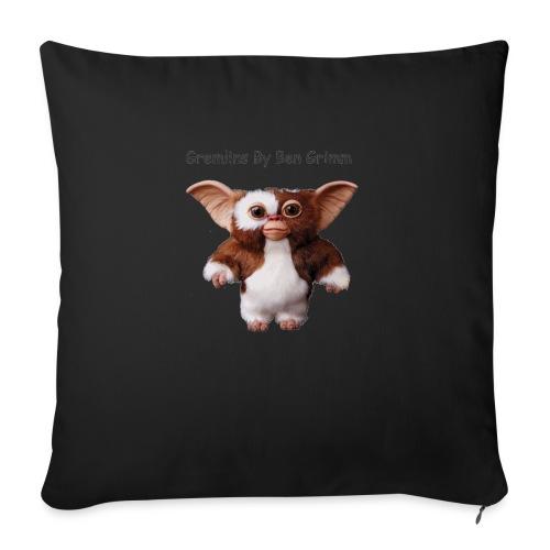 "Gizmo - Throw Pillow Cover 18"" x 18"""