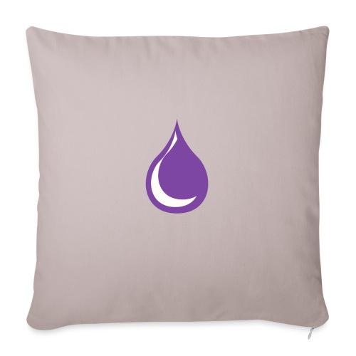 """drop - Throw Pillow Cover 18"""" x 18"""""""