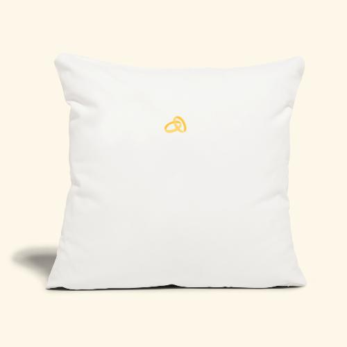 """COUPLES THAT PRAY TOGETHER STAY TOGETHER - Throw Pillow Cover 18"""" x 18"""""""