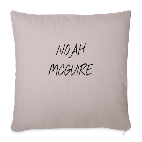 "Noah McGuire Merch - Throw Pillow Cover 18"" x 18"""