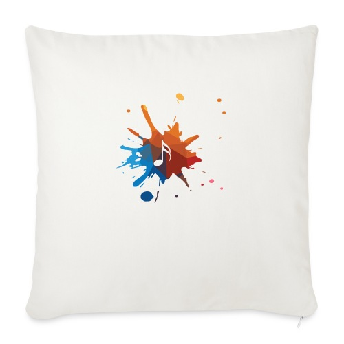 """music - Throw Pillow Cover 18"""" x 18"""""""