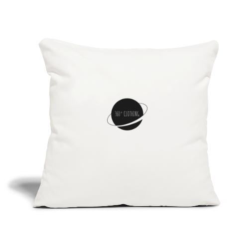 "360° Clothing - Throw Pillow Cover 18"" x 18"""