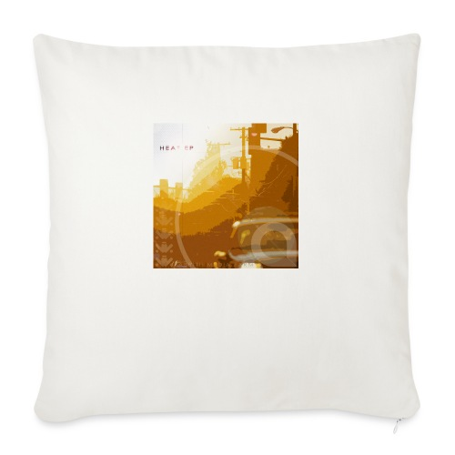 "Heat EP - Throw Pillow Cover 17.5"" x 17.5"""